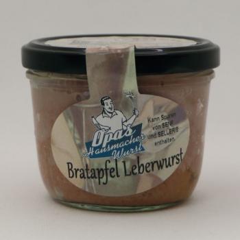 Bratapfel Leberwurst